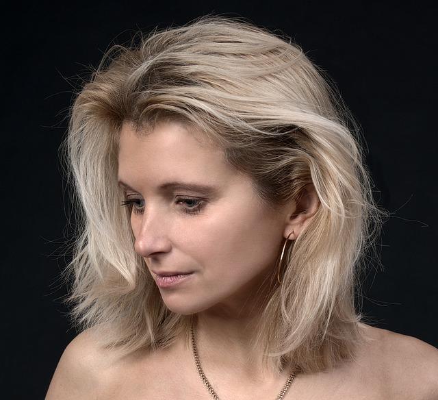 mladá blondýna