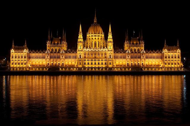palác v Budapešti