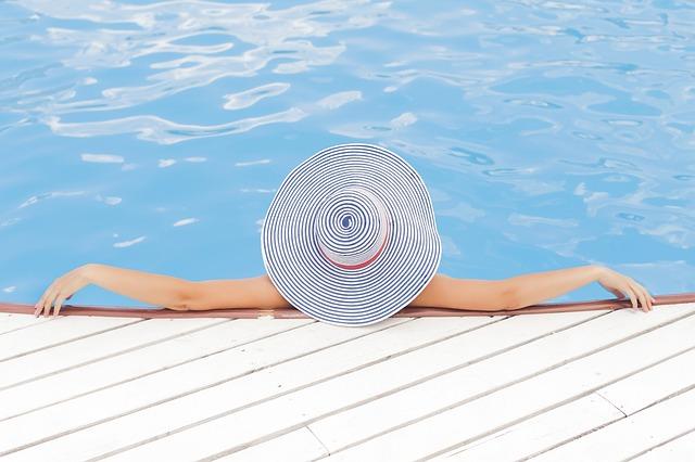 relax u bázénu