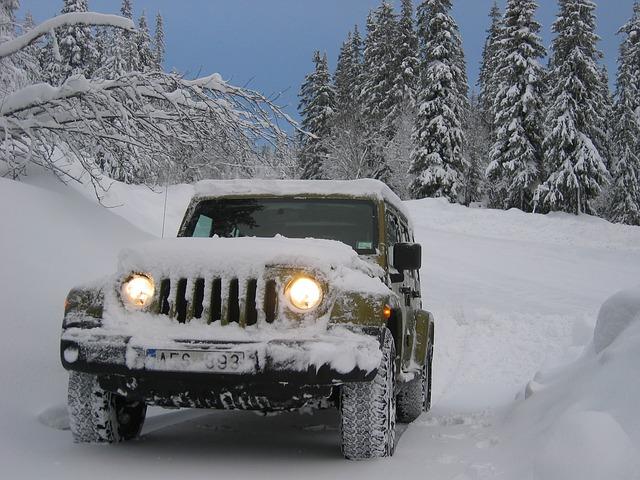 Jak jezdit autem v zimě?